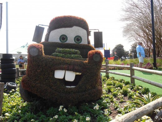 Tow mater EPCOT