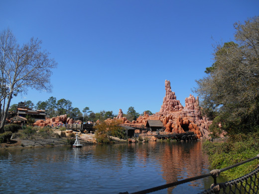 Magic Kingdom, Thunder Mountain