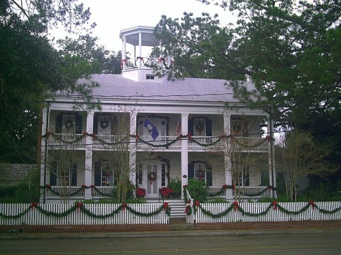 House of the founder of the original 1821 settlement.