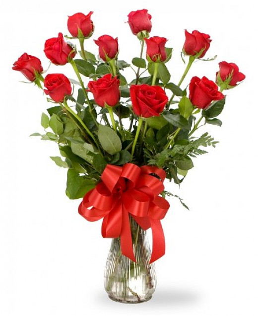 The Classic Mothers Day Bouquet of Red Roses