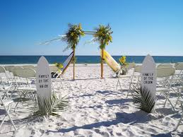 Beach weddings can be done on a budget and they look classy too.