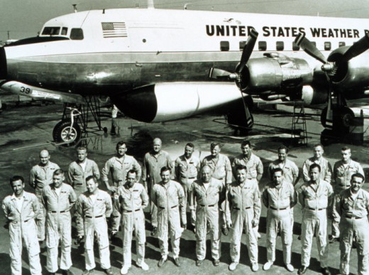 1966 - Project Stormfury Aviation Crew