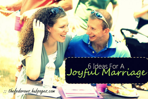 How to help your marriage?  Consider trying one of our ideas, just one small step at a time.  Your marriage can be joyful!