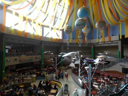 Inside the Land Pavilion in EPCOT