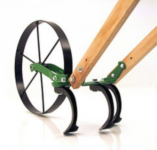 Wheel Hoe Original Single Wheel Cultivator