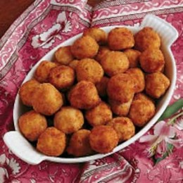 Sauerkraut Ham Balls. If you haven't tried these yet you need to real soon.