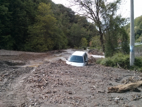 Floods in Krupanj - May 2014