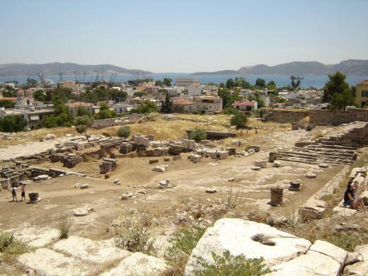 Eleusina Archaeological Site