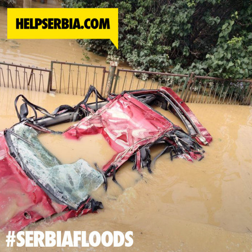 SHARE ON YOUR INSTAGRAM WITH HASHTAG #SERBIAFLOODS
