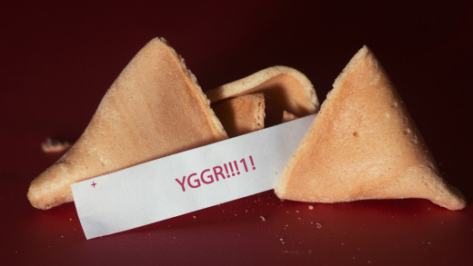 A misfortune cookie.