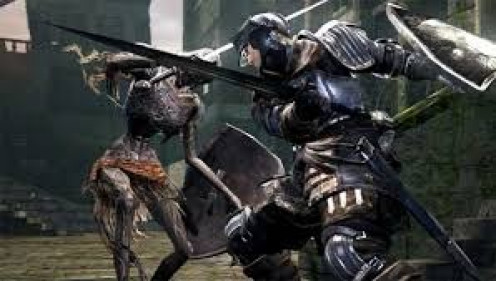 Dark Souls has some very graphic gameplay and  an excellent musical score which makes for a very entertaining time.