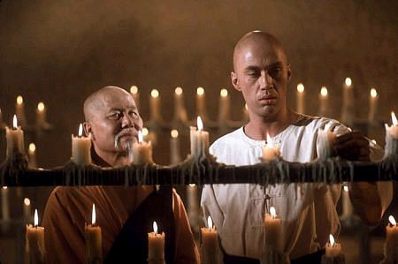 Master Po talking to Kwai Chang Cane