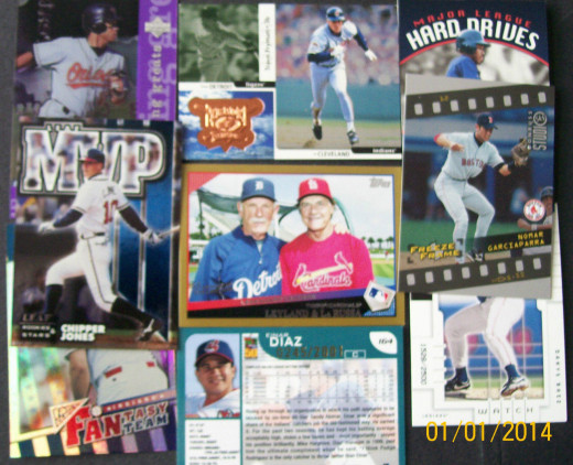 More Newer Stuff-Cost?  $3.21 Total - the Nomar Card is worth $10 by itself