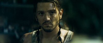 Julio, who you may recognize is played by Diego Luna, who was actually Javier from Dirty Dancing: Havana Nights.