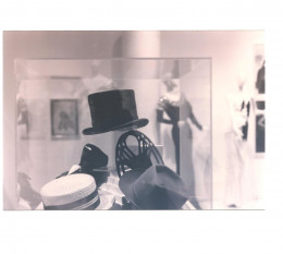 Fred Astaire's Hats and Shoes. Photo taken by Victoria Moore at a Costume Exhibit at the Fashion Institute of Design and Merchandising.