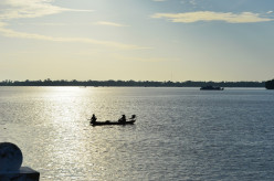 Where the Saigon River meets the sea (c) A. Harrison