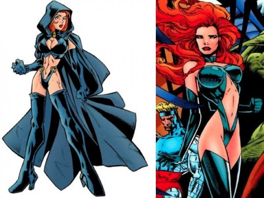 Madelyne Pryor Hellfire Club Costume