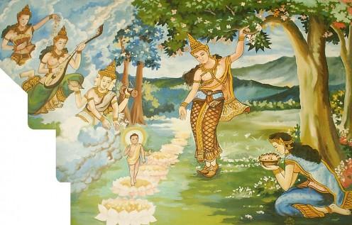 Prince Siddhartha's Birth