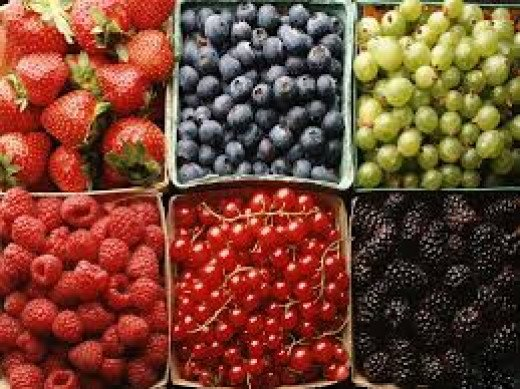 Berries are full of antioxidants which fight cancer cells
