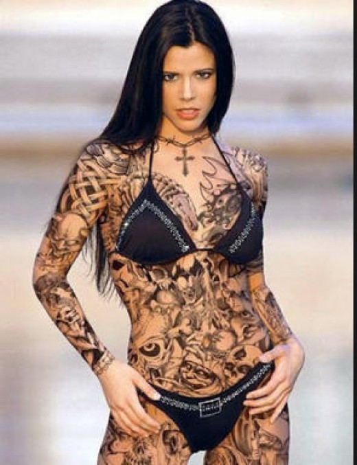 What about body tattoos? Is this an instant turn off no matter how nice she is?