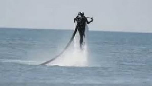 You can do many thing's in and over the ocean including flying in a jet pack that propels you several feet above the water.