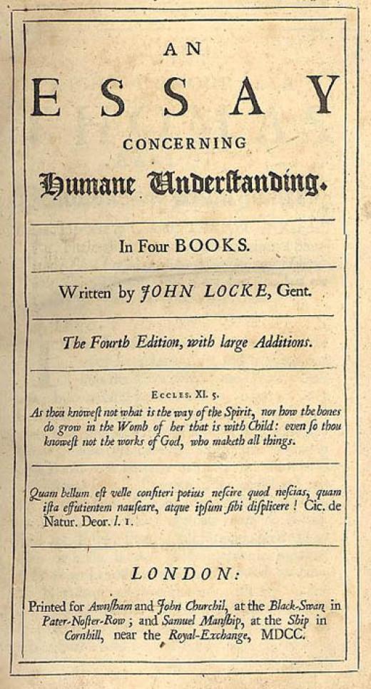 John Locke's essay exploring rights