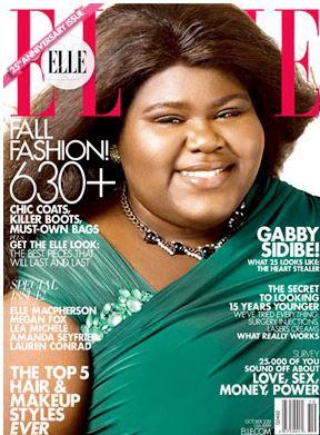"http://www.elle.com/ Gabourey ""Gabby"" Sidibe"