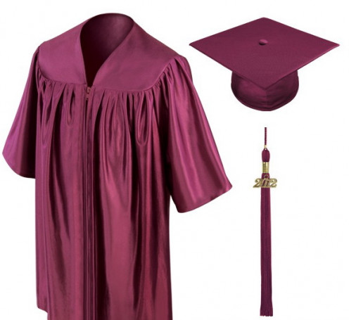 A snappy cap and gown
