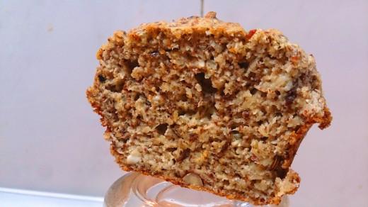 Moist muffin.