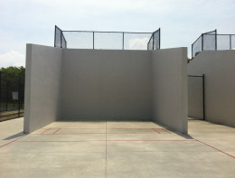 Outside Racquetball Court