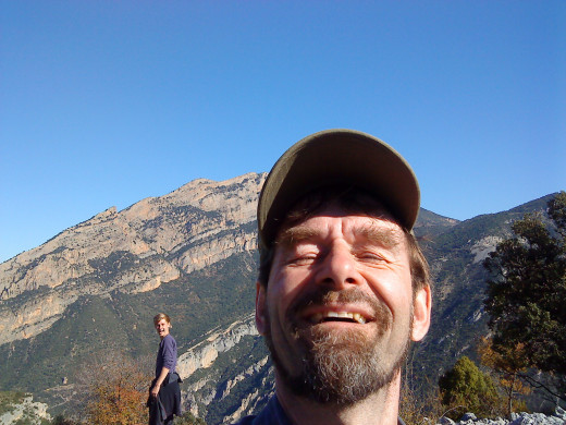 High in the Catalonian Pyrenees mountains