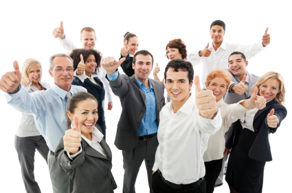 Successful and Happy Co-Workers