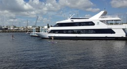 The rich and famous yacht adventure.
