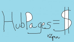 Does HubPages equal money?