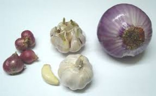 Onion and Garlic Can Harm Organs