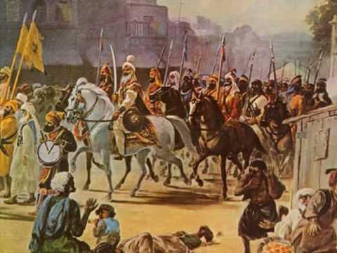 Hari singh Nalwa in battlefield