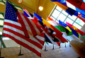U.S. and world flags give us our identities