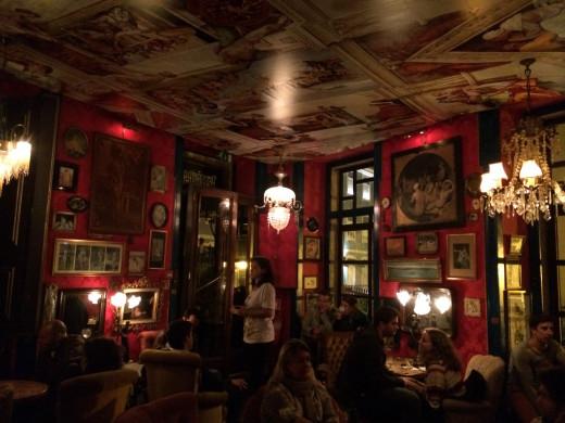 """The famous Lisbon former brothel - bar """"Pensao Amor"""""""