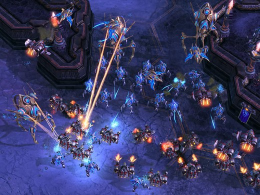 Games such as StarCraft 2 (pictured above) can help improve brain flexibility