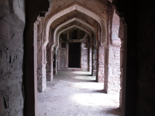 Inside of Bhangarh Fort