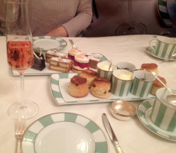 What do you get for afternoon tea at Claridge's in London?