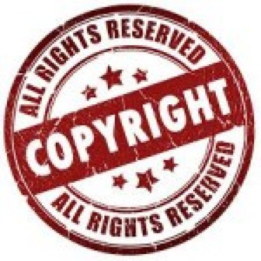 It's copyrighted with or without a copyright symbol