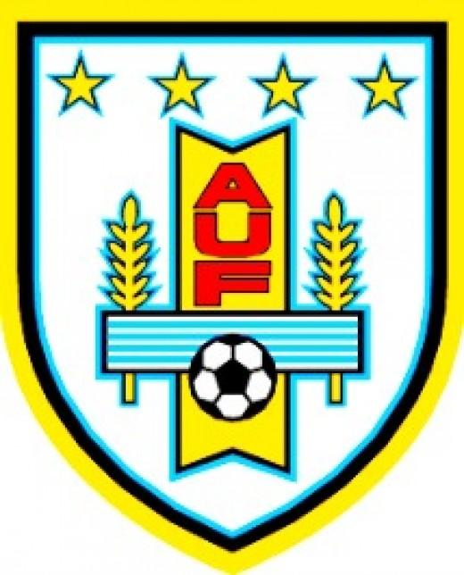 Uruguay's national football team logo.