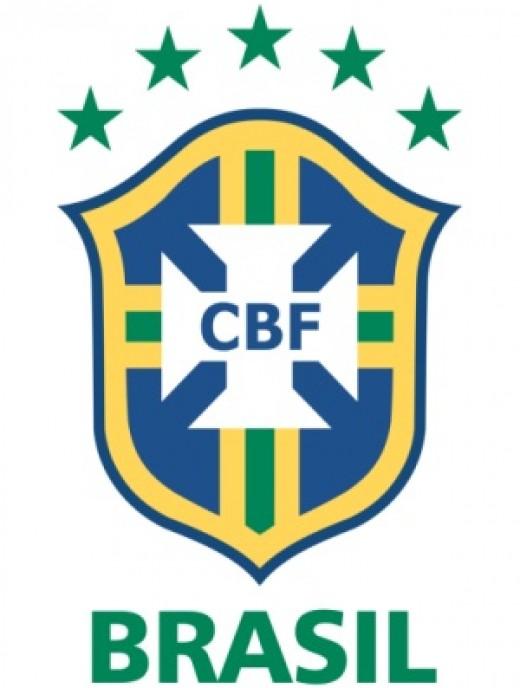 Brazil's national football team logo.