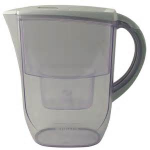 Water treatment jug for home use. Will remove harmful chemicals.
