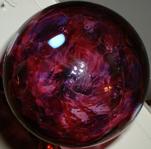 Witch's balls are not only gorgeous...they have an interesting history too!