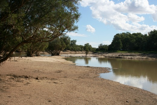 Coopers Creek near Windorah