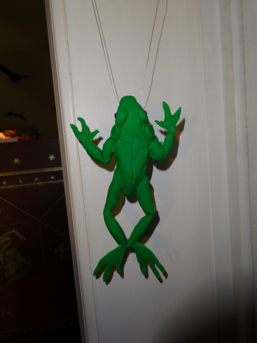 Life size frog Pendant for a costume