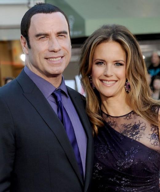 Travolta and Preston
