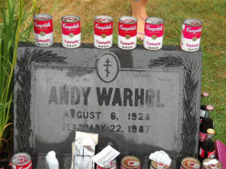 Visiting Andy Warhol's Grave